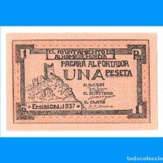 Billetes locales: ALHAMA DE MURCIA 1 PTA PLANCHA. Lote 233385375