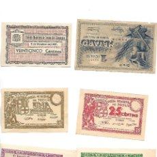 Billetes locales: LOTE DE BILLETES. Lote 269229523