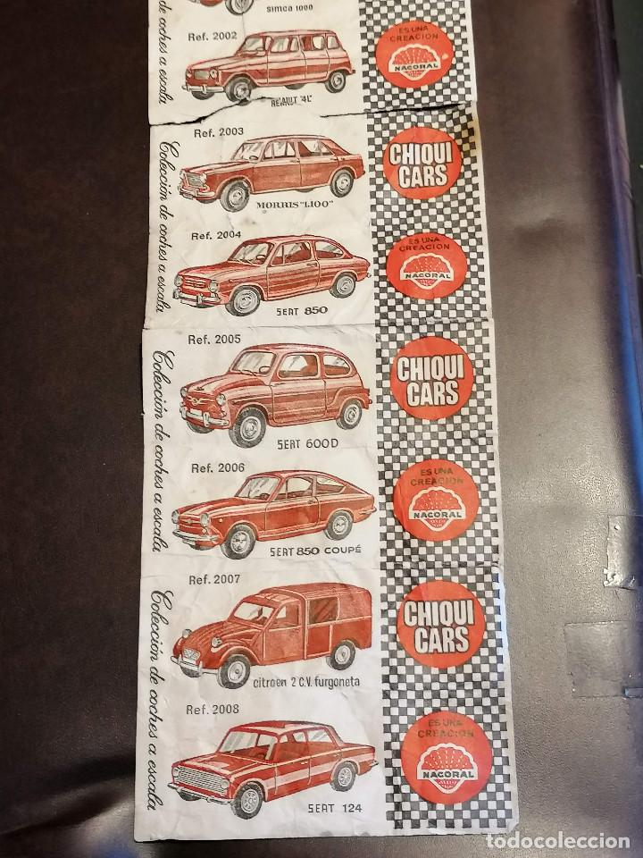 Billetes locales: Cromos CHIQUI CARS Coches - Foto 2 - 271370168