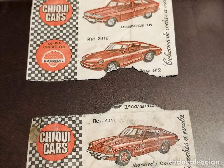 Billetes locales: Cromos CHIQUI CARS Coches - Foto 6 - 271370168