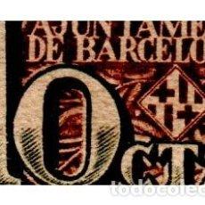 Billetes locales: BILLETE LOCAL DEL AYUNTAMIENTO DE BARCELONA DE 10 CENTIMOS CIRCULADO. Lote 276619263