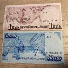 Billetes locales: VINAROZ (PLANCHA). Lote 292244208