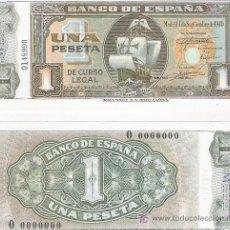 Lotes de Billetes: 1 PESETA - 04/09/1940 - FACSIMIL IMPRESO POR LA REAL CASA DE LA MONEDA Y TIMBRE -. Lote 206508396