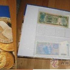 Lotes de Billetes: COLECCION BILLETES DEL MUNDO- ORIGINALES. INCLUYE CLASIFICADOR Y HOJAS PROTECTORAS. Lote 36833596