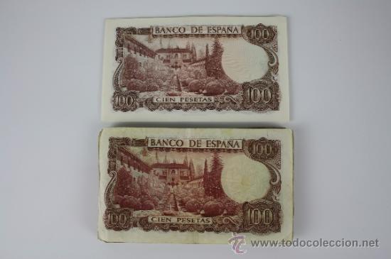 Lotes de Billetes: LOTE DE 18 BILLETES DE 100 PESETAS DE 1970 - DIFERENTES SERIES Y CONSERVACIONES - UNO PLANCHA - Foto 2 - 38327600