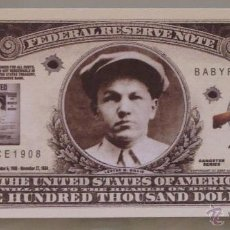 Lotes de Billetes: BILLETE EEUU CONMEMORATIVO. DÓLAR. FORAJIDOS Y GANGSTERS. OESTE. LESTER GILLIS.. Lote 155896436