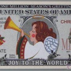Lotes de Billetes: BILLETE EEUU CONMEMORATIVO. DÓLAR. NAVIDADES, EL ÁNGEL DE LA NAVIDAD. . Lote 155895682