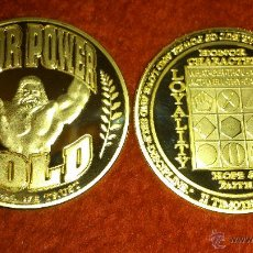 Lotes de Billetes: MONEDA THOR POWER 1 OZ DE PLACA PULIDA CON BAÑO DE ORO.. Lote 52455515