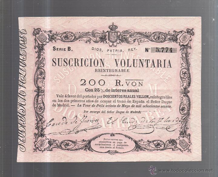 Lotes de Billetes: BILLETES. TRIO CORRELATIVO DE 200 REALES DE VELLON. 1870. LA TOUR DE PEILZ. - Foto 3 - 54170297