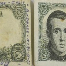 Lotes de Billetes: BI-014 - LOTE DE 2 BILLETES DE 5 PESETAS. BANCO DE ESPAÑA. 1951.. Lote 50280641