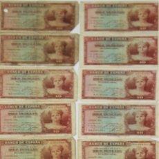 Lotes de Billetes: BI-029 - LOTE DE 20 BILLETES DE 10 PESETAS. BANCO DE ESPAÑA. EMISIÓN 1935.. Lote 50306038