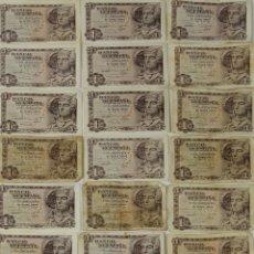 Lotes de Billetes: BI-033 - LOTE DE 25 BILLETES DE 1 PESETA. BANCO DE ESPAÑA. 1948.. Lote 50316751