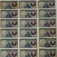 Lotes de Billetes: BI-035 - LOTE DE 20 BILLETES DE 25 PESETAS. BANCO DE ESPAÑA. 1928.. Lote 50318066