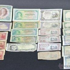 Lotes de Billetes: BI-016 - LOTE DE 22 BILLETES. VARIOS (VER DESCRIPCIÓN). ESPAÑA. 1928-1954.. Lote 54929069