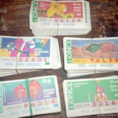 Lotes de Billetes: CUPONES DE LA ONCE. Lote 56738486