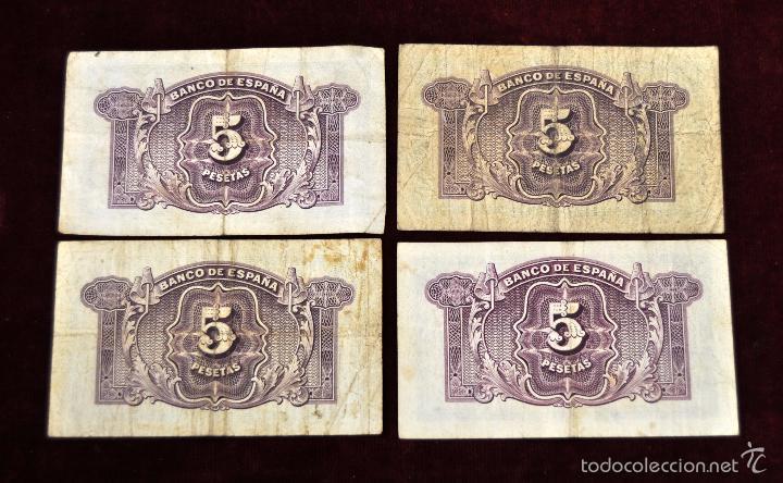 Lotes de Billetes: LOTE DE 38 BILLETES ESPAÑOLES DE DISTINTOS VALORES - Foto 3 - 130469816