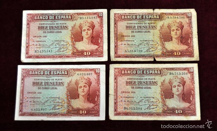 Lotes de Billetes: LOTE DE 38 BILLETES ESPAÑOLES DE DISTINTOS VALORES - Foto 4 - 130469816