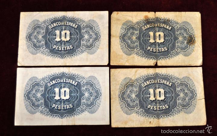 Lotes de Billetes: LOTE DE 38 BILLETES ESPAÑOLES DE DISTINTOS VALORES - Foto 5 - 130469816