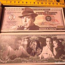 Lotes de Billetes: BILLETE CONMEMORATIVO DOLARES DOLAR - CINE HUMPHREY BOGART SERIE LEGENS - HERE´S LOOKIN AT YOU KID. Lote 161298282