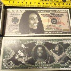 Lotes de Billetes: BILLETE CONMEMORATIVO DOLARES DOLAR - MUSICA BOB MARLEY - - SERIE LEGENDS, . Lote 63013316