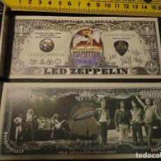 Lotes de Billetes: BILLETE CONMEMORATIVO DOLARES DOLAR - LED ZEPPELIN, - MUSICA - FOR YOU TO ME AR THE ONLY ONE. Lote 63013672