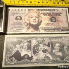 Lotes de Billetes: BILLETE CONMEMORATIVO DOLARES DOLAR - CINE - MARILYN MONROE . WE TRUST. Lote 212416148