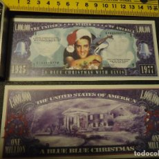 Lotes de Billetes: BILLETE CONMEMORATIVO DOLARES DOLAR - MUSICA - ELVIS PRESLEY. Lote 196823997