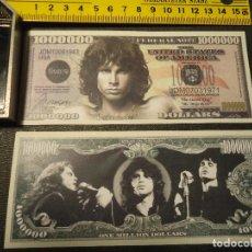 Lotes de Billetes: BILLETE CONMEMORATIVO DOLARES DOLAR - MUSICA - BON JOVI. Lote 196824075