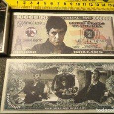 Lotes de Billetes: BILLETE CONMEMORATIVO DOLARES DOLAR - CINE GANSTERS AL PACINO. Lote 161298397