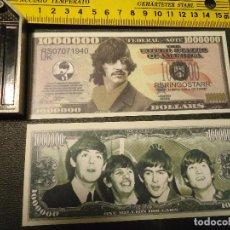 Lotes de Billetes: BILLETE CONMEMORATIVO DOLARES DOLAR - MUSICA .- THE BEATLES - RINGO STARR. Lote 63015936