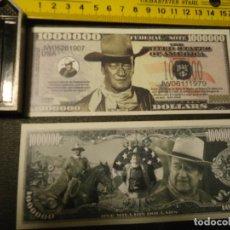 Lotes de Billetes: BILLETE CONMEMORATIVO DOLARES DOLAR - CINE WESTERN JOHN WAYNE - . Lote 155900098