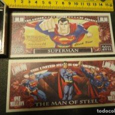 Lotes de Billetes: BILLETE CONMEMORATIVO DOLARES DOLAR - SUPERMAN CLARK KENT . Lote 63025203