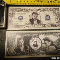 Lotes de Billetes: BILLETE CONMEMORATIVO DOLARES DOLAR - JAMES DEAN . Lote 63018456