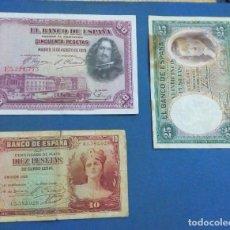 Lotes de Billetes: GERRA CIVIL-ZONA REPUBLICANA BANCO DE ESPAÑA. Lote 90177916