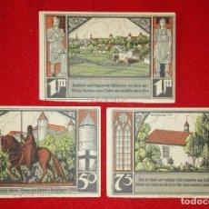 Lotes de Billetes: ALEMANIA - LOTE 3 BILLETES NOTGELD - BÜTOW. Lote 90456009