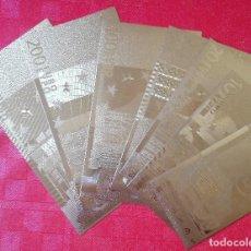 Lotes de Billetes: LOTE DE BILLETES EURO - SERIE ORO - PRODUCTO NUEVO. Lote 96543882