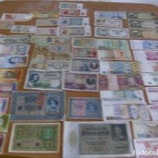 Lotes de Billetes: LOTE DE 58 BILLETES DE ESPAÑA Y DE DIFERENTES PAISES (SIN REPETIDOS Y ALGUNOS SIN CIRCULAR. Lote 97069531