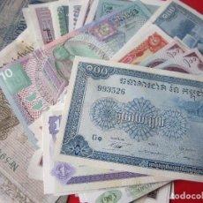 Lotes de Billetes: LOTE DE 25 BILLETES EXTRANJEROS DIFERENTES. NUEVOS. Lote 97229519