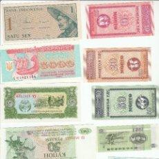 Lotes de Billetes: LOTE DE 10 BILLETES EXTRANJEROS-SIN CIRCULAR. Lote 111943039