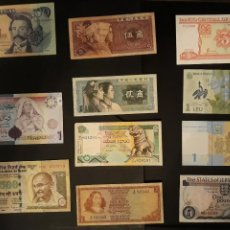 Lotes de Billetes: LOTE 11 BILLETES CUBA JERSEY RUMANÍA SUDÁFRICA PORTUGAL SRI LANKA INDIA CHINA .... Lote 112733798