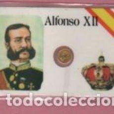Lotes de Billetes: MINI MONEDA PLASTIFICADA ALFONSO XII. Lote 112859443