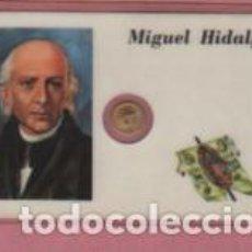 Lotes de Notas: MINI MONEDA PLASTIFICADA MIGUEL HIDALGO DE MEJICO MEXICO. Lote 112860219