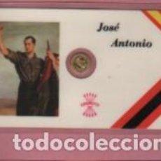 Lotes de Billetes: MINI MONEDA PLASTIFICADA JOSÉ ANTONIO PRIMO DE RIVERA Y SAENZ DE HEREDIA - FALANGE . Lote 112860451