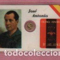 Lotes de Billetes: MINI MONEDA PLASTIFICADA JOSÉ ANTONIO PRIMO DE RIVERA Y SAENZ DE HEREDIA - FALANGE . Lote 112860555