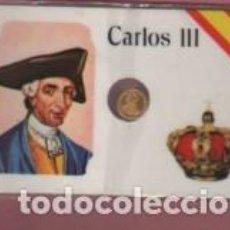 Lotes de Billetes: MINI MONEDA PLASTIFICADA CARLOS III CONOCIDO COMO MEJOR ALCALDE DE MADRID. Lote 112861271