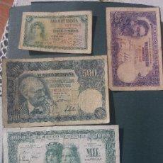 Lotes de Billetes: LOTE DE BILLETES DE ESPAÑA. Lote 115019314