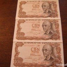 Lotes de Billetes: 3 BILLETES DE FALLA 1970 CORRELATIVOS. Lote 115376719