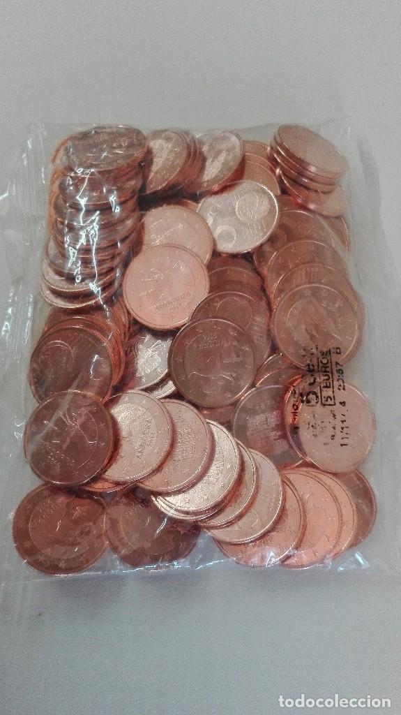 Lotes de Billetes: Bolsa de 100 monedas de 5 céntimos de España 2015 y Andorra 2014 - Foto 2 - 171484812
