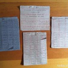 Lotes de Billetes: LOTE CARTILLAS RACIONAMIENTO USADAS. Lote 118062919