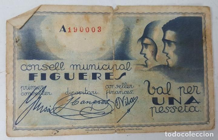 Lotes de Billetes: COLECCIÓN DE 9 BILLETES Y 4 SELLOS. ESPAÑA. 1937/1939. - Foto 2 - 123571219